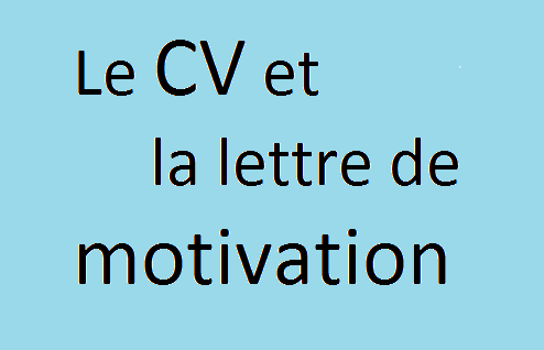 LE_CV_ET_LA_LETTRE_DE_MOTIVATION